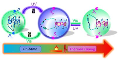 113.Overtemperature-protection intelligent molecular chiroptical photoswitches